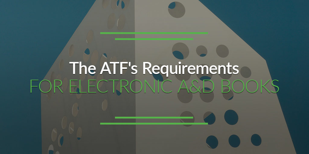 The Atfs Requirements For Electronic Ad Books Best Ffl Software